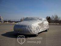 Тент чехол для автомобиля, ЭКОНОМ плюс  для Nissan Almera Classic