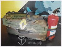 Текстильный органайзер в багажник 600х300х300мм.