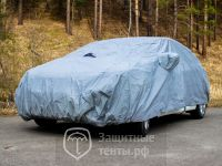Тент-чехол автомобильный PSV, с молнией, модель 20,  для Nissan Almera Classic
