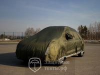 Тент чехол для автомобиля, КОМФОРТ плюс  для Nissan Almera Classic