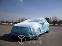 Тент чехол для автомобиля, ЭКОНОМ  для Nissan Almera Classic